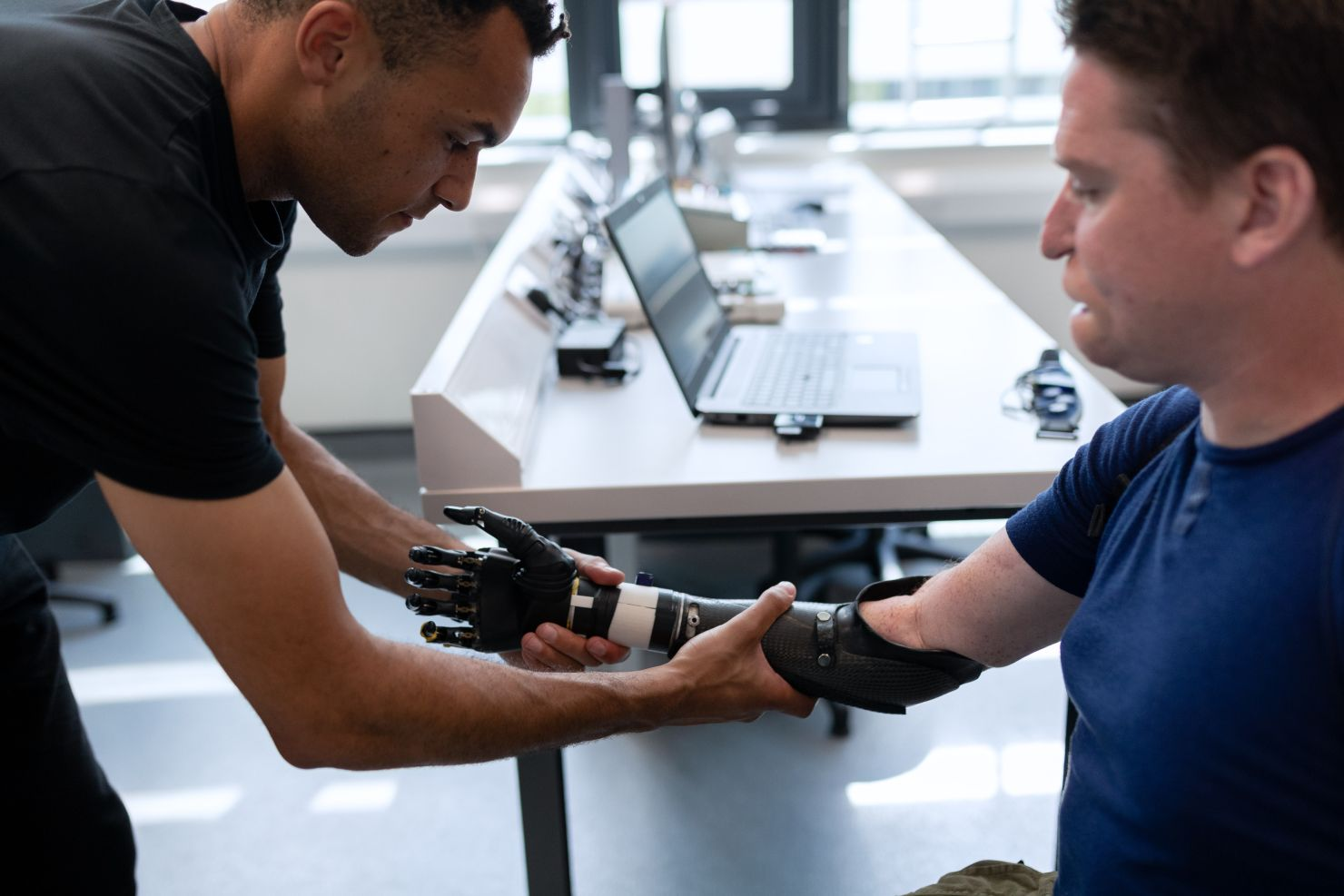 Man gets prosthetic after common motorcycle accident injuries